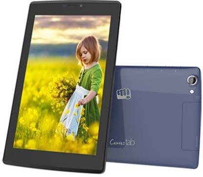 Micromax P480 tablet 1 GB RAM 8 GB ROM 7 inch with Wi-Fi+2G Tablet (Black+Grey)