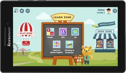 Lenovo CG Slate Grade 3-5 1 GB RAM 8 GB ROM 7 inch with Wi-Fi Only Tablet (Ebony)