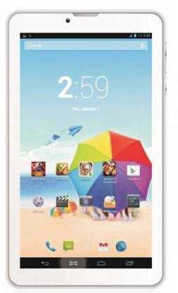 KARBONN 512 MB RAM 4 GB ROM 7 inch with Wi-Fi+2G Tablet (White)