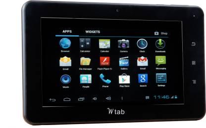 BSNL Champion Wtab - 706 4 GB 7 inch with Wi-Fi+3G Tablet (Black)