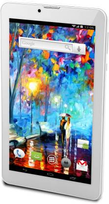 Ambrane Duo Calling Tablet 1 GB RAM 8 GB ROM 7 inch with Wi-Fi+3G Tablet (White)
