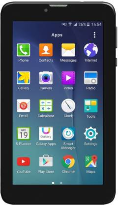 IZOTRON Mi7 Hero TAB 1 GB RAM 8 GB ROM 7 inch with Wi-Fi+3G Tablet (Black)