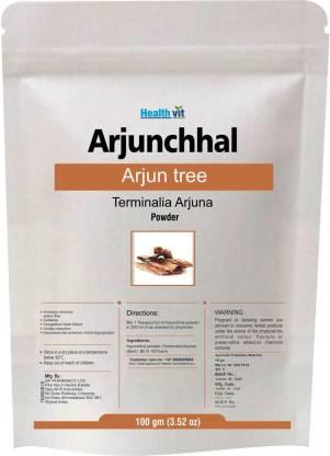 HealthVit Arjun Tree (Terminalia Arjuna Powder 100gm