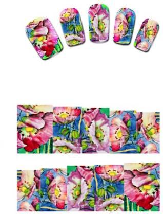 SENECIO™ Colorful Trendy Water Transfer Nail Tattoo