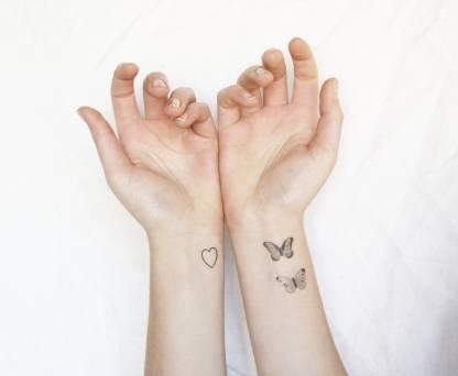 SENECIO™ Butterflies Mini Design Temporary Body Tattoo