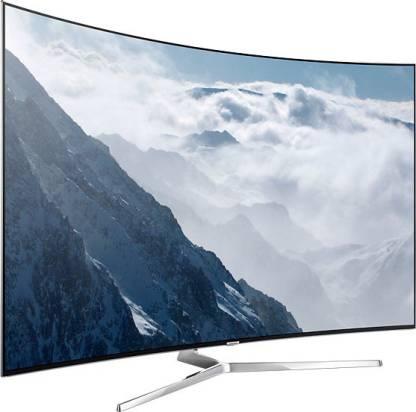 SAMSUNG 138 cm (55 inch) Ultra HD (4K) Curved LED Smart TV