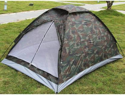 Alfa Mart camouflage tent 2 person Tent - For 2 person, 1 room