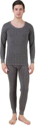 HAP Kings Quilted Thermal Men Top - Pyjama Set Thermal