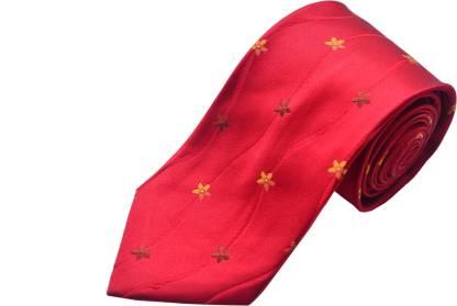 The Vatican Floral Print Tie