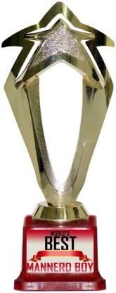 Box 18 WORLDS BEST MANNERD BOY 1436 Trophy