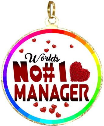 Box 18 WORLDS NO#1 MANAGER 25 Medal