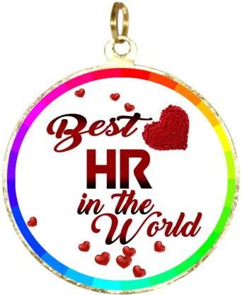 Box 18 BEST HR IN TNE WORLD Medal