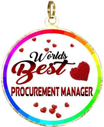Box 18 WORLDS BEST procurement MANAGER Medal