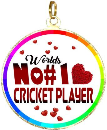 Box 18 WORLDS NO#1 CRICKET PLAYER 166 Medal