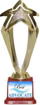 Box 18 67 WORLDS BEST ADVOCATE Trophy
