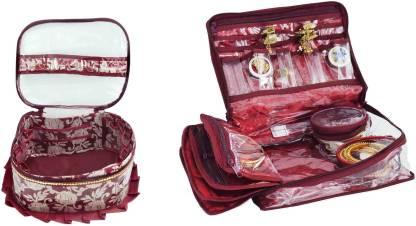Bahurani Boutique Combo of Fril Makeup Vanity Box