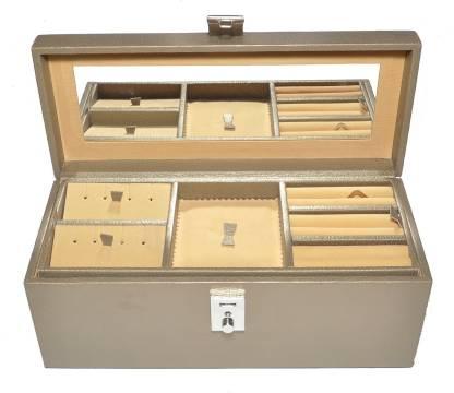 Laveri New collection for pu locker box Jewellery Vanity Box