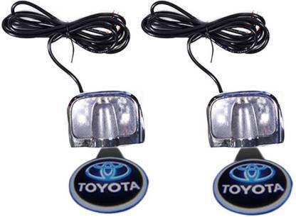 Speedwav 60920 Stick On Door Ghostor Projectoror Shadow -Toyota Etios Interior Light Car LED for Toyota (12 V, 35 W)