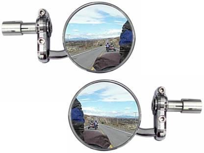 Speedwav Manual Rear View Mirror For Universal For Bike Universal For Bike