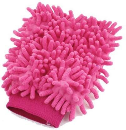 AutoStark Microfiber Vehicle Washing Hand Glove  (Pack Of 1)