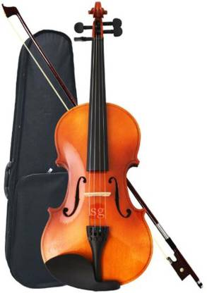 SG MUSICAL Violin with Rosin, Bow & Case Violin
