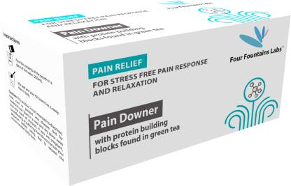 Four Fountains Labs Pain Downer - for reducing Pain and promoting Mental Relaxation (1 Month Supply)