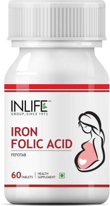 Inlife Iron Folic Acid for Prenatal Health of Women