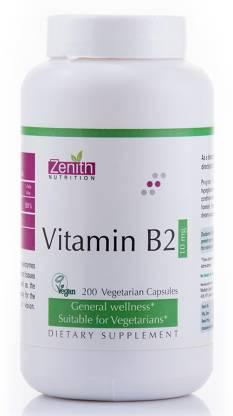 Zenith Nutrition Vitamin B2 10mg- 200Nos