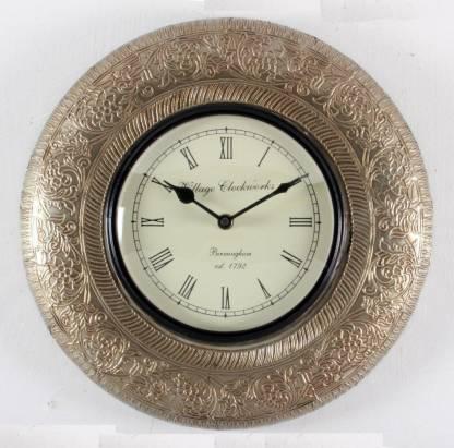 Home and Bazaar Analog 30 cm X 30 cm Wall Clock