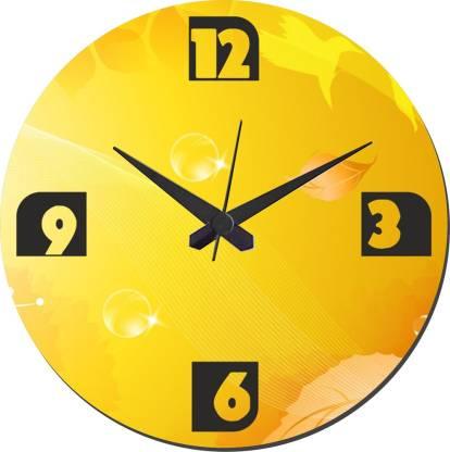 meSleep Analog 9.5 cm X 9.5 cm Wall Clock