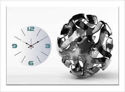 Design O Vista Analog 50 cm X 35 cm Wall Clock