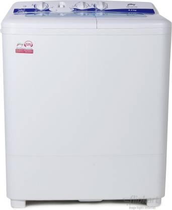 Godrej 6.2 kg capacity Semi Automatic Top Loading Washing Machine White colour