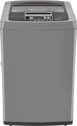 LG 6.5 kg Fully Automatic Top Load Grey
