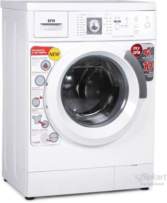 IFB 5.5 kg Fully Automatic Front Load with In-built Heater White