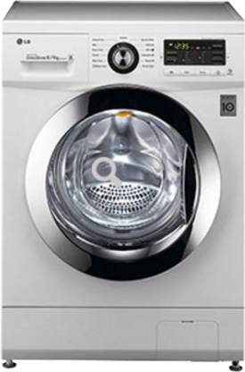 LG 8/4 kg Washer with Dryer with In-built Heater