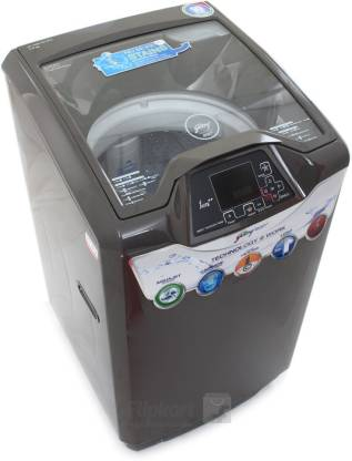 Godrej 7 kg Fully Automatic Top Load with In-built Heater Grey