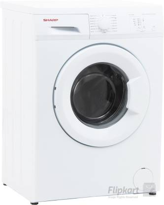 Sharp 5.5 kg Fully Automatic Front Load with In-built Heater