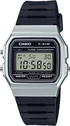 Casio D141 Youth Digital ( F-91WM-7ADF ) Digital Watch - For Men & Women