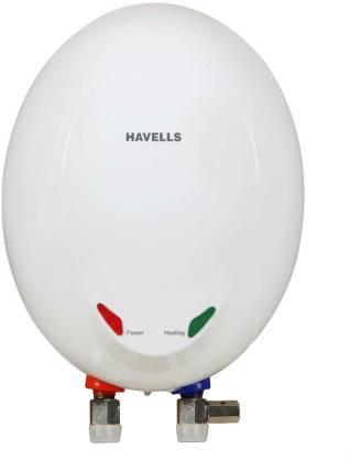 HAVELLS 1 L Instant Water Geyser (Opal EC 1L 3KW, White)