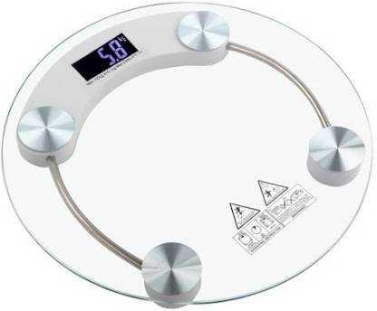 Gadget Hero's Digital Personal Bathroom Weighing Scale Machine 180 KG With Backlit LCD Display Weighing Scale
