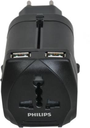 PHILIPS With USB Port Worldwide Adaptor