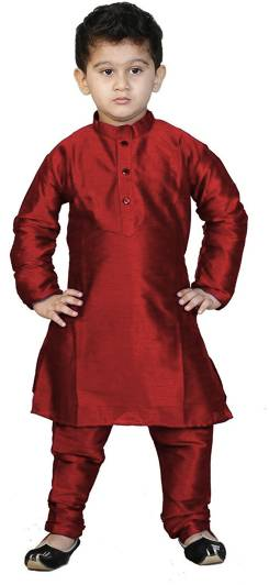 f7584a6e8d Nikunj Fashion Boys Kurta and Pyjama Set Price in India - Buy Nikunj ...