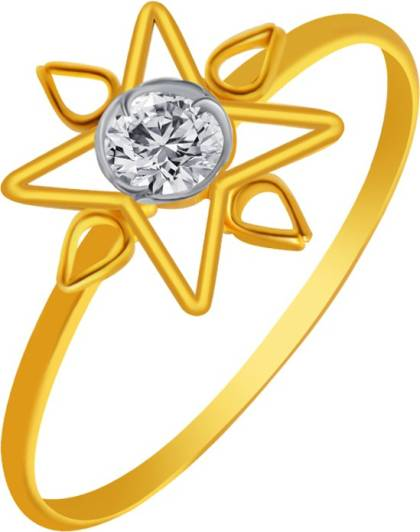 PC Chandra Jewellers 14kt Yellow Gold ring