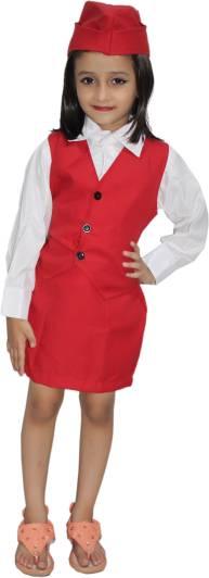 d6b41b07d08 SBD Air Hostess Kids Costume Wear Price in India - Buy SBD Air ...