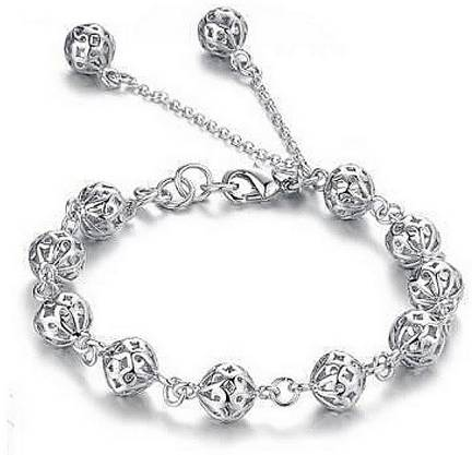 Aastha Jain Sterling Silver Gold Plated Bracelet Price In India