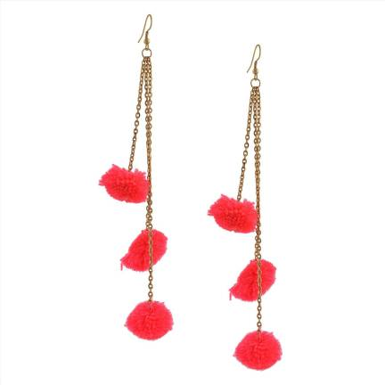 012d56536 Flipkart.com - Buy Zephyrr Fashion Hook Dangle Tassel Long Funky ...