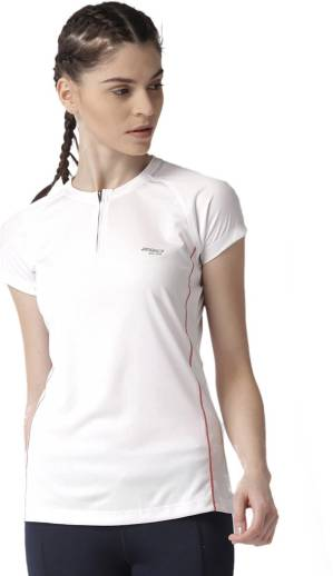 e3e244b77472eb 2GO Solid Women s Polo Neck Yellow T-Shirt - Buy 2GO Solid Women s ...
