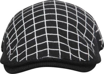 94d51e4ea FabSeasons Checkered Self Designed Unisex Golf Flat Cap with ...