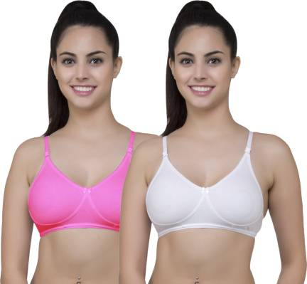 fce8920b3 Alzy everyday wear bra for womens NK-P1-05-pink 30 Women Full ...