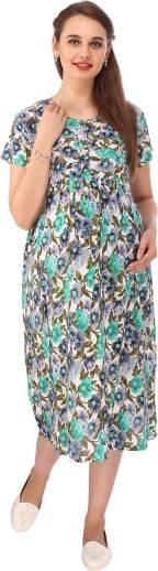 6b243ac900 Vixenwrap Women A-line White Dress - Buy Vixenwrap Women A-line ...